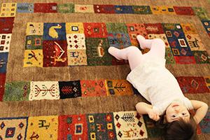 ギャベ・ペルシャ絨毯